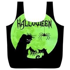 Halloween Full Print Recycle Bags (l)
