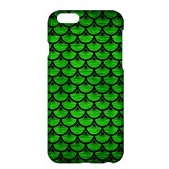 Scales3 Black Marble & Green Brushed Metal (r) Apple Iphone 6 Plus/6s Plus Hardshell Case