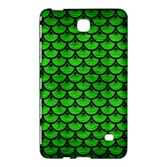 Scales3 Black Marble & Green Brushed Metal (r) Samsung Galaxy Tab 4 (8 ) Hardshell Case