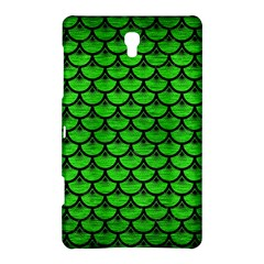 Scales3 Black Marble & Green Brushed Metal (r) Samsung Galaxy Tab S (8 4 ) Hardshell Case