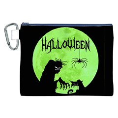 Halloween Canvas Cosmetic Bag (xxl)