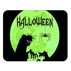 Halloween Double Sided Flano Blanket (large)