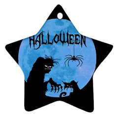 Halloween Ornament (star)