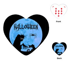 Halloween Playing Cards (heart)
