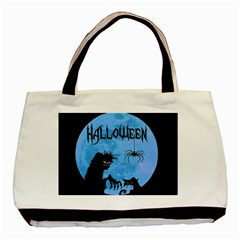 Halloween Basic Tote Bag (two Sides)