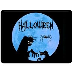 Halloween Fleece Blanket (large)