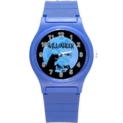 Halloween Round Plastic Sport Watch (s)