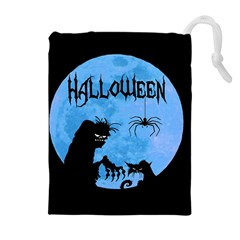 Halloween Drawstring Pouches (extra Large)