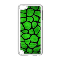 Skin1 Black Marble & Green Brushed Metal Apple Ipod Touch 5 Case (white)