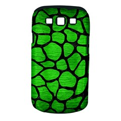 Skin1 Black Marble & Green Brushed Metal Samsung Galaxy S Iii Classic Hardshell Case (pc+silicone)