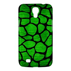 Skin1 Black Marble & Green Brushed Metal Samsung Galaxy Mega 6 3  I9200 Hardshell Case