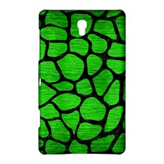 Skin1 Black Marble & Green Brushed Metal Samsung Galaxy Tab S (8 4 ) Hardshell Case