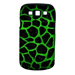 Skin1 Black Marble & Green Brushed Metal (r) Samsung Galaxy S Iii Classic Hardshell Case (pc+silicone)
