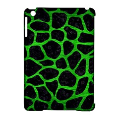 Skin1 Black Marble & Green Brushed Metal (r) Apple Ipad Mini Hardshell Case (compatible With Smart Cover)