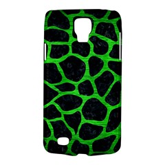 Skin1 Black Marble & Green Brushed Metal (r) Galaxy S4 Active