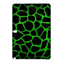 Skin1 Black Marble & Green Brushed Metal (r) Samsung Galaxy Tab Pro 12 2 Hardshell Case