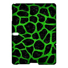 Skin1 Black Marble & Green Brushed Metal (r) Samsung Galaxy Tab S (10 5 ) Hardshell Case