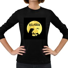 Halloween Women s Long Sleeve Dark T Shirts