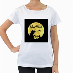 Halloween Women s Loose Fit T Shirt (white)