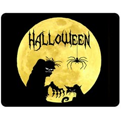 Halloween Fleece Blanket (medium)