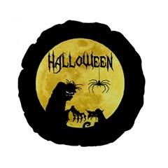 Halloween Standard 15  Premium Flano Round Cushions