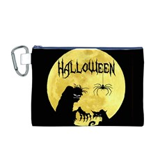Halloween Canvas Cosmetic Bag (m)