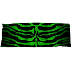 Skin2 Black Marble & Green Brushed Metal Body Pillow Case (dakimakura)