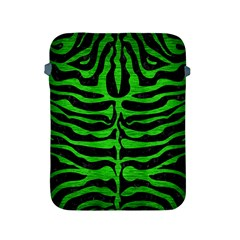 Skin2 Black Marble & Green Brushed Metal Apple Ipad 2/3/4 Protective Soft Cases