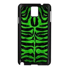 Skin2 Black Marble & Green Brushed Metal Samsung Galaxy Note 3 N9005 Case (black)