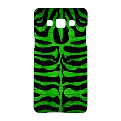 Skin2 Black Marble & Green Brushed Metal Samsung Galaxy A5 Hardshell Case