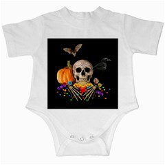 Halloween Candy Keeper Infant Creepers