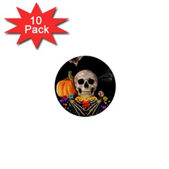 Halloween Candy Keeper 1  Mini Buttons (10 Pack)