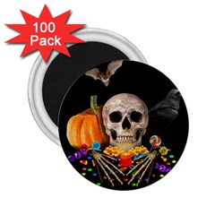 Halloween Candy Keeper 2 25  Magnets (100 Pack)