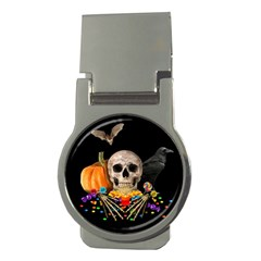 Halloween Candy Keeper Money Clips (round)