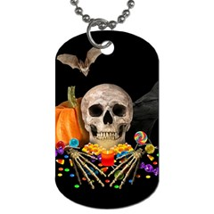 Halloween Candy Keeper Dog Tag (one Side)