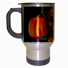 Halloween Candy Keeper Travel Mug (silver Gray)