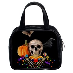 Halloween Candy Keeper Classic Handbags (2 Sides)