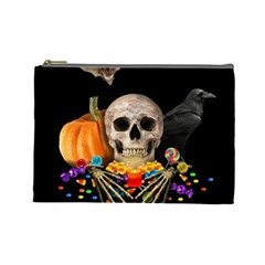 Halloween Candy Keeper Cosmetic Bag (large)