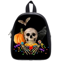 Halloween Candy Keeper School Bag (small)