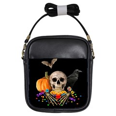 Halloween Candy Keeper Girls Sling Bags