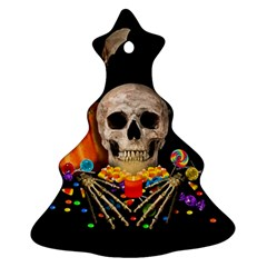 Halloween Candy Keeper Christmas Tree Ornament (two Sides)