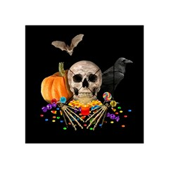 Halloween Candy Keeper Acrylic Tangram Puzzle (4  X 4 )