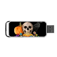 Halloween Candy Keeper Portable Usb Flash (two Sides)
