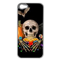 Halloween Candy Keeper Apple Iphone 5 Case (silver)