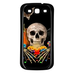 Halloween Candy Keeper Samsung Galaxy S3 Back Case (black)