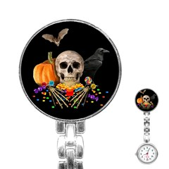 Halloween Candy Keeper Stainless Steel Nurses Watch
