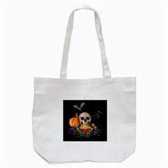 Halloween Candy Keeper Tote Bag (white)