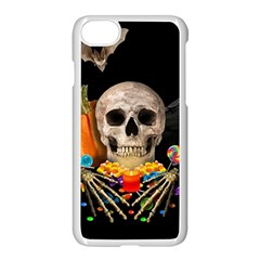 Halloween Candy Keeper Apple Iphone 7 Seamless Case (white)