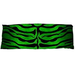 Skin2 Black Marble & Green Brushed Metal (r) Body Pillow Case Dakimakura (two Sides)