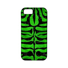 Skin2 Black Marble & Green Brushed Metal (r) Apple Iphone 5 Classic Hardshell Case (pc+silicone)